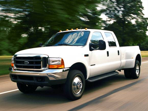 2001 Ford F350 Super Duty Crew Cab