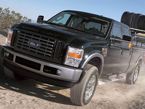 2009 Ford F350 Super Duty Crew Cab